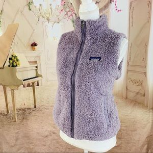 50%OFF🎉Patagonia Lavender Shaggy Fleece Vest